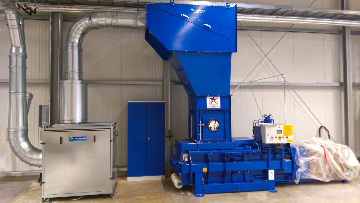 Lundberg Tech Flexo Waste Collector