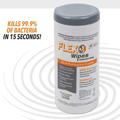 Flex Wipes Disinfectant Wipes