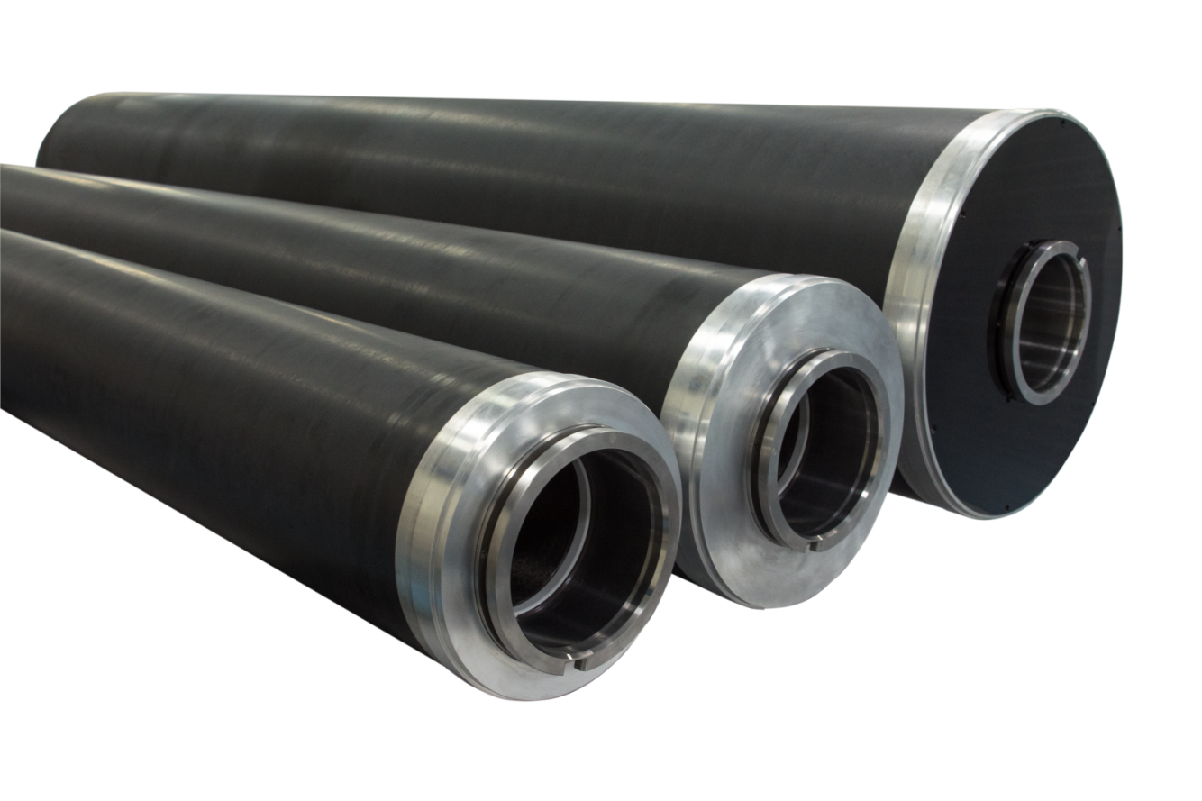 Carbon Fiber Rolls for Flexo