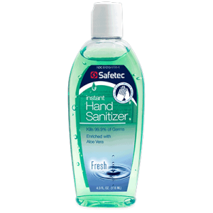 Instant Hand Sanitizer Safetec 4oz