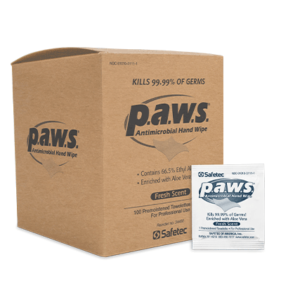 Paws Antimicrobial Hand Wipes