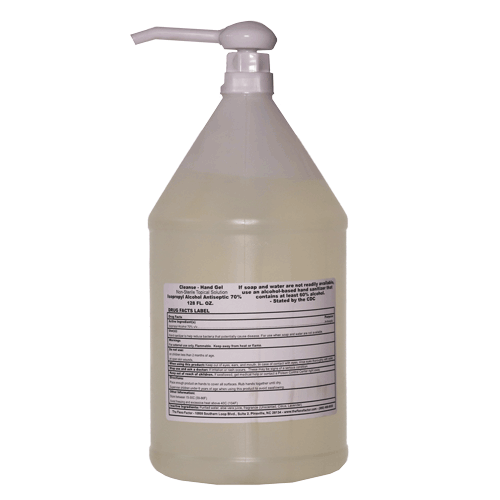 Cleanse Hand Gel1 Gallon with Pump