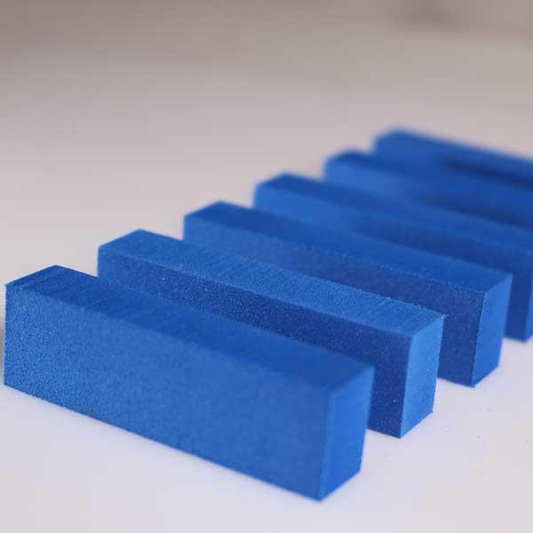 Blue EVA Foam End Seals for MPS Presses