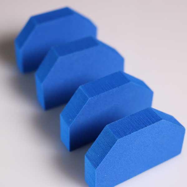 Blue EVA Foam End Seals for Aquaflex Presses